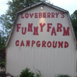 Loveberrys Funny Farm Campground in Pioneer Ohio is a member of the Ohio Campground Owners Association